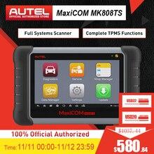 Autel MaxiCheck MK808TS MX808TS OBD2 диагностический инструмент ODB2 сканер автомобильный считыватель кодов TPMS программист IMMO DPF PK MK808 TS608