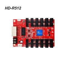 Carte de réception huidu HD-R512, couleur 256x256 pixels 12 x HUB75E 1/64 balayage pour affichage led, carte d'envoi, système de contrôle vidéo