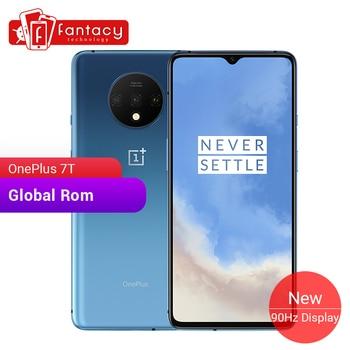 Global ROM OnePlus 7T 8GB 256GB Smartphone Snapdragon 855 Plus Octa Core 90Hz AMOLED Screen 48MP Triple Cameras UFS 3.0