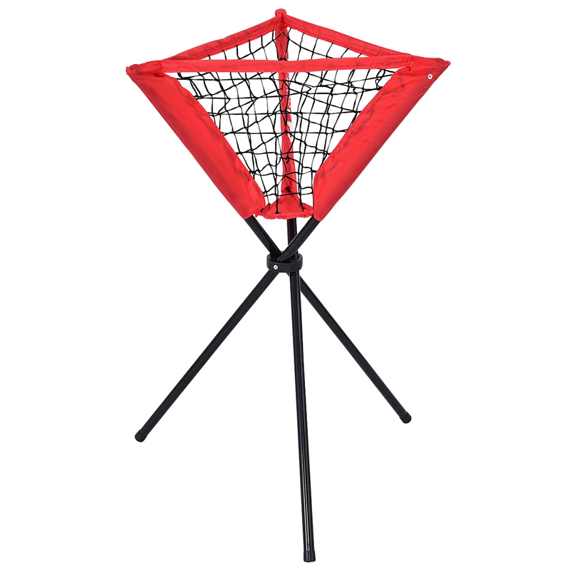 Portable Baseball Softball Batting Practice Tripod Stand Ball Holder