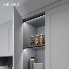 MR.XRZ 10W/m Surface Oblique Under Cabinet Lights SMD2835 Infrared Sensor Inductive Lamps For Cupboard Shelf Kitchen