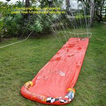 5M Single Water Slide PVC Thicken Fun Spray Lawn Water Slides Pools Backyard Outdoor Summer Water Games Toys juegos de agua