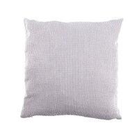 Kernels de milho pavio algodão quadrado decoração para casa lance sofá capa de almofada do carro travesseiro caso 65*65cm cinza