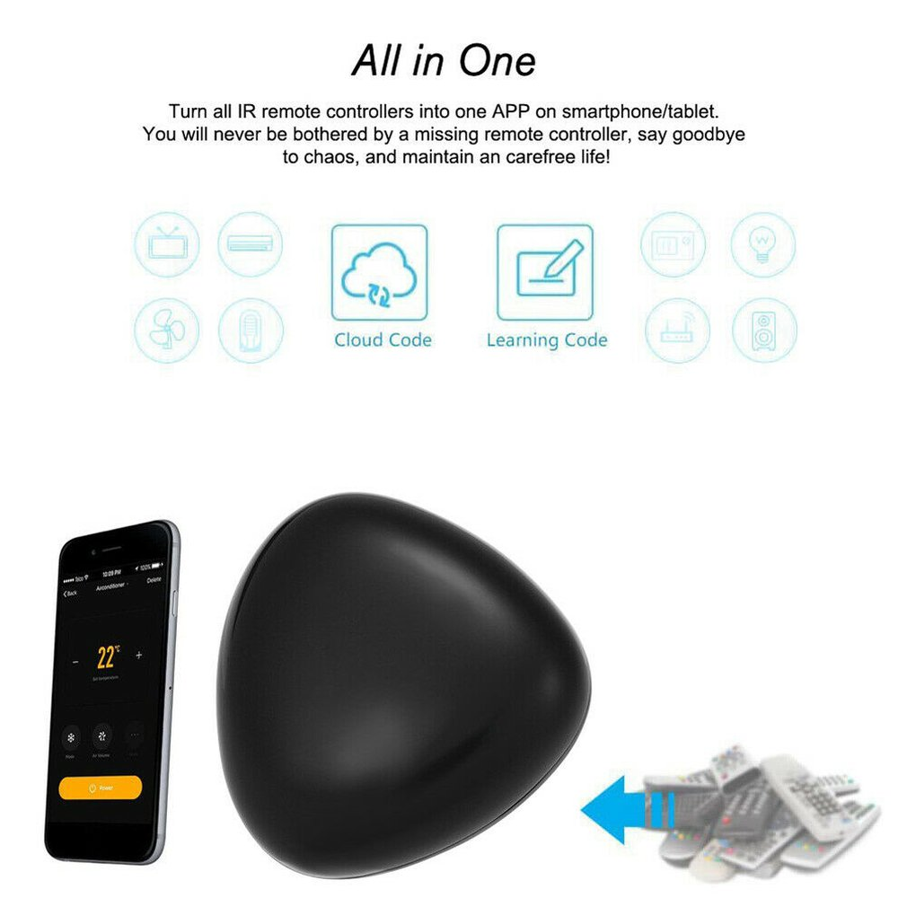 Smart Life App Making Life Smarter And More Convenient Enabled Infrared Tuya Universal Remote Controller image