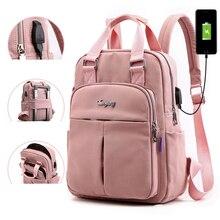 Fashion Women Backpack Waterproof Travel Computer Backpack Female School Bag For Teenagers Girl Shoulder Bag Bagpack Rucksack