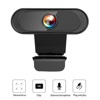 Kamera internetowa USB komputer PC kamera internetowa bez sterownika wbudowane podwójne mikrofony do transmisji na żywo wideo wywołanie konferencji praca 1080P tanie i dobre opinie centechia 1080 * 720P 3 mega CMOS dropshipping wholesale