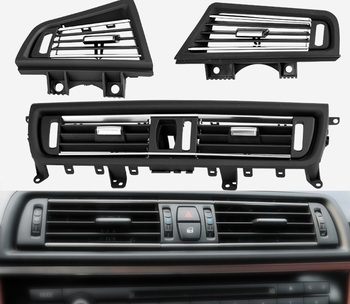 Car Replacement Center /Left /Right Air Outlet Vent Panel Grille Cover Accessories Parts for BMW 5 Series F10 F18 image