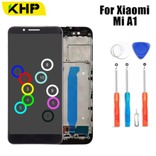 купить 2019 KHP AAAA Original LCD For Xiaomi A1 Display Touch Screen Digitizer Replace For Xiaomi A1 LCD Screen по цене 1700.77 рублей