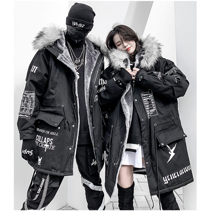 Winter Men   Parka   Jacket Coat Male Thick Cotton-Padded Jacket High Quality   Parka   Coat Male Fashion Fashion Coats