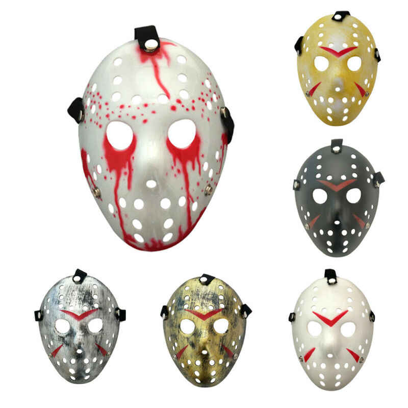 Masquerade Horror Jason Mask Cosplay Costume Halloween Scary Mask 6 Colors