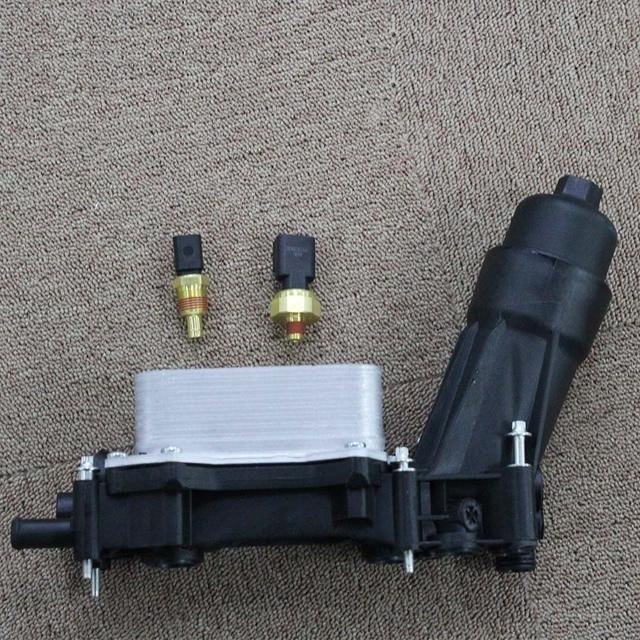 Engine Oil Filter Adapter Housing For Chrysler Dodge Charger Durango Grand Caravan Jeep Wrangler Cherokee  3.6L 3.2L 68105583AF 6