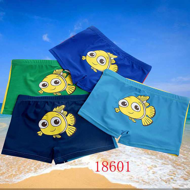 Crawler Children Swimming Pants Doll Figure Swimming Trunks (Suitable 3-9-Year-Old) 18601 Top Grade Pants