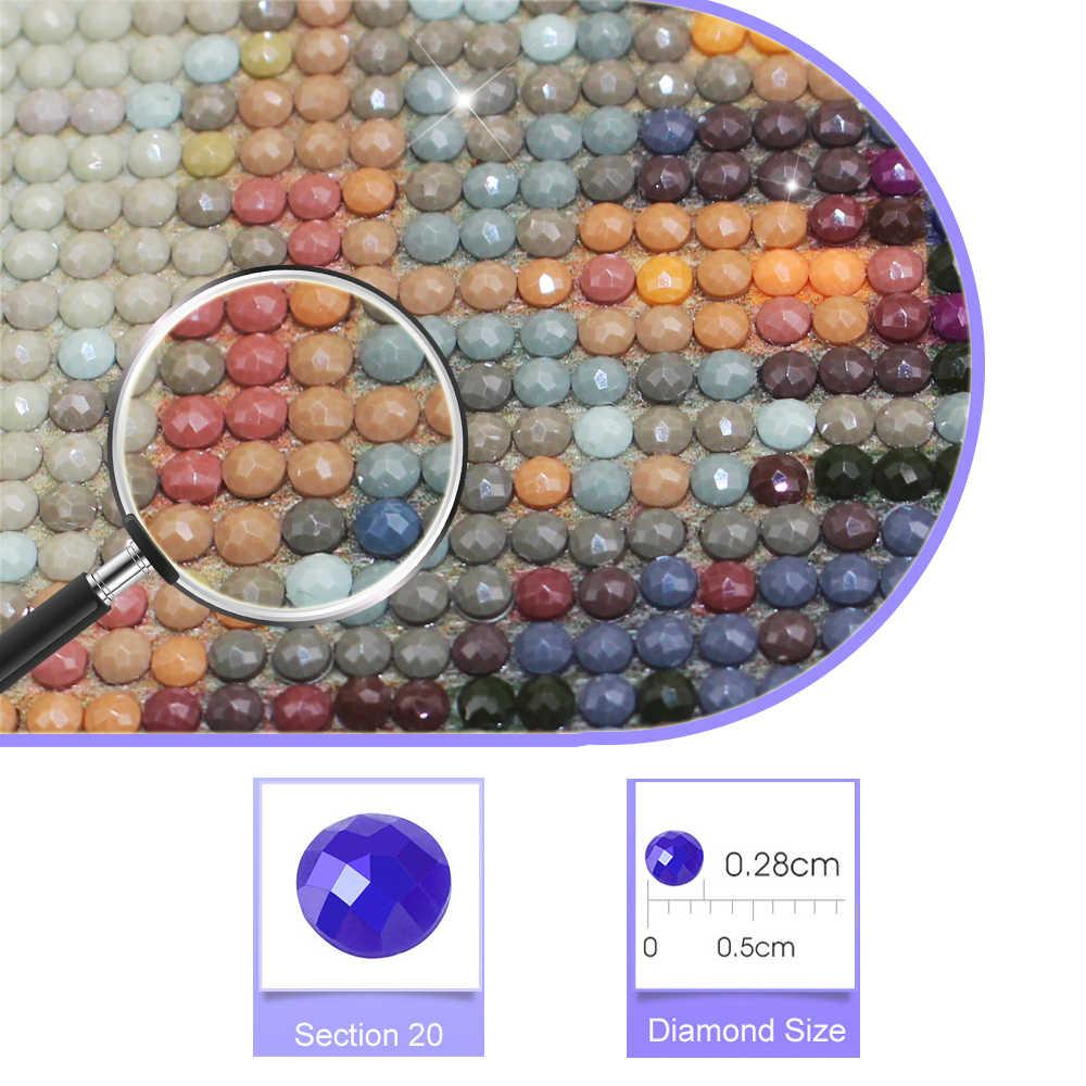 Classic Artista Gustav Klimt Bacio Astratta 5D Pittura Diamante Mosaico Moderno Murale Poster di Diamante Del Ricamo Della Decorazione Della Casa