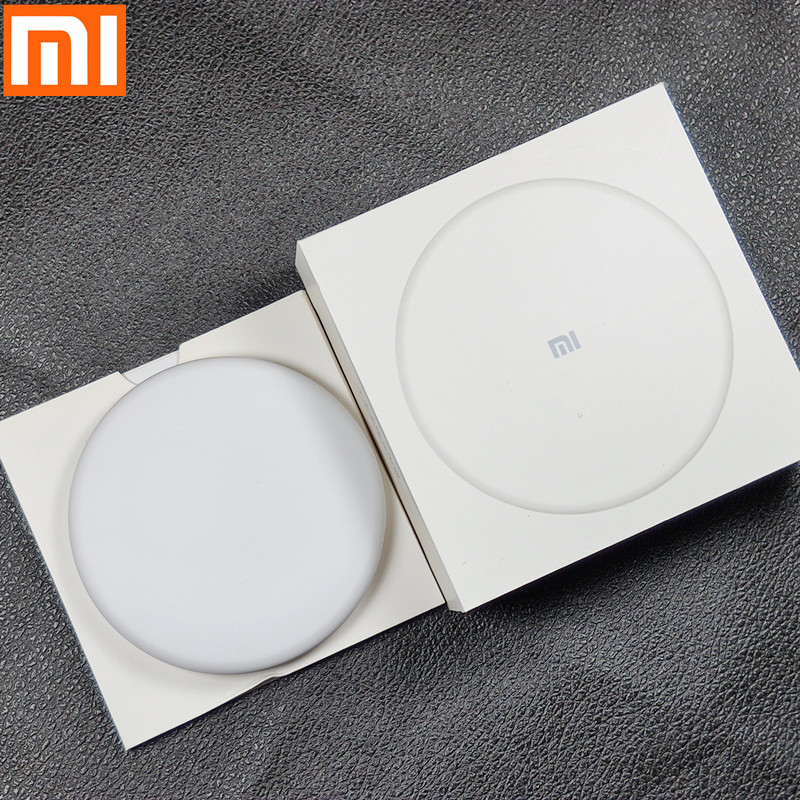 Original Xiaomi Wireless Charger Qi Smart 7.5W 9V Charger For xiaom Mi MIX 2S mi 9 MI9 For iPhone X XR XS 8 For Sumsung S9 s6 S7