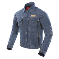 DUHAN Motorcycle Jeans Jacket Women Moto Denim Jacket Autumn Winter Protective Gear Removable Warm Lining Motorcycle Clothing