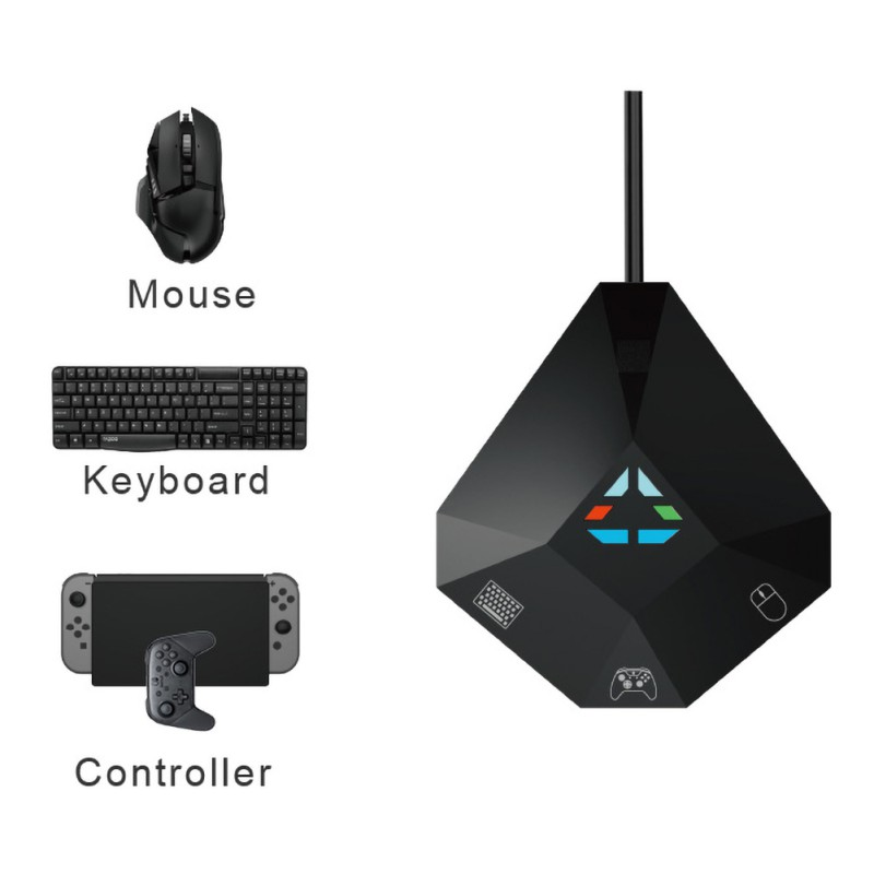 Multifunctional Keyboard And Mouse Converter Support PS4 / PS3 / XBOX ONE / 360 Series Converter Game Console Accessories