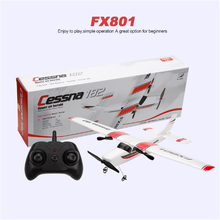 FX801 high-tech remote control glider RC Cessna 182 flight fixed wing fall-proof collision aircraft RC airplane flying toy DIY 2016 new cessna 182 rc airplane remote control air plane rtf hobby model aircraft aeromodelling aviao glider for aerial toys