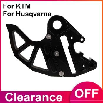 For KTM 125-530 EXC/EXC-F/XC-W/XCF-W 2004-2015 Motorbike Brakes Protect CNC Billet Rear Brake Disc Guard D35