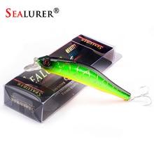 Sealurer в коробке рыболовные приманки гольян высокое качество снасти 90 мм 8,5 г воблеры кренкбейт с 6# крючки 3D глаза