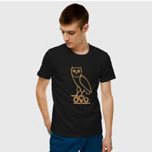 Men and women summer plus size OVO- interesting letter T-shirt 100% cotton street fashion round-neck short-sleeved T-shirt shirt