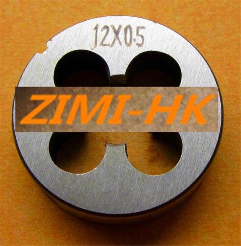 1pcs 12mm X 0.5 Metric Right Hand DieM 8mm*0.75 M12 X 0.5mm/M12*0.5 Pitch (The High Quality )