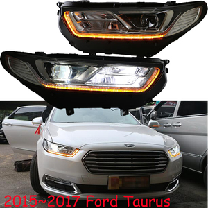 Image 5 - 2pcs 2015 ~ 2017y רכב bupmer ראש אור טאורוס פנס אביזרי רכב LED DRL HID קסנון ערפל עבור מזל שור פנס