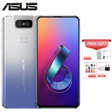 "Globale Asus Zenfone 6 ZS630KL 8GB 256GB Handy Snapdragon 855 Octa Core 6,4 ""48MP 13MP flip -up Kamera Android 9.0 4G Telefon(China)"
