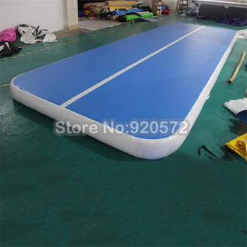 2020 7M8M10M*2M*0.2M Inflatable Gymnastics AirTrack Tumbling Air Track Floor Trampoline for Home Use/Training/Cheerleading/Beach