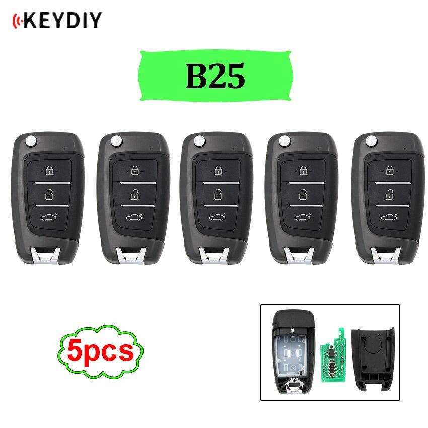 5pcs/lot B25 universal B series remote control for KD200/KD300/KD900/URG200/mini KD/KD X2 generate new key B25|Car Key| - AliExpress