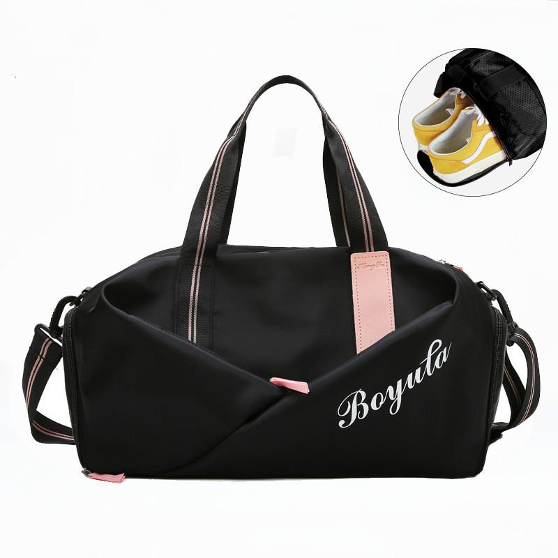 Oxford sports bag travel for women fitness designer multifunctional sport shoulder tote gym bags for storage shoe fitness bag
