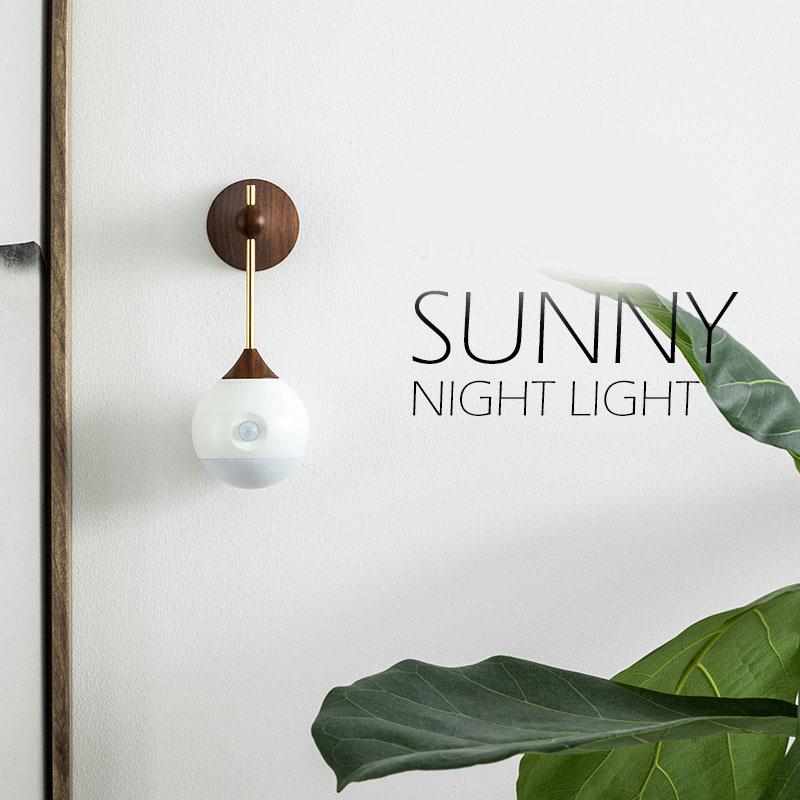 Sothing to of Xiao Ming маленькая Индукционная Ночная лампа для коридора, ванной комнаты, спальни, интеллектуальная прикроватная лампа для