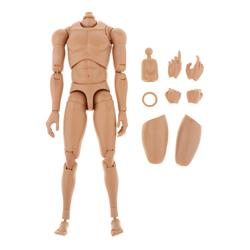 1/6 Scale Moveable Joints Male Muscle Body 12inch Action Figures for 12'' inch HT DAM Action Figures DIY