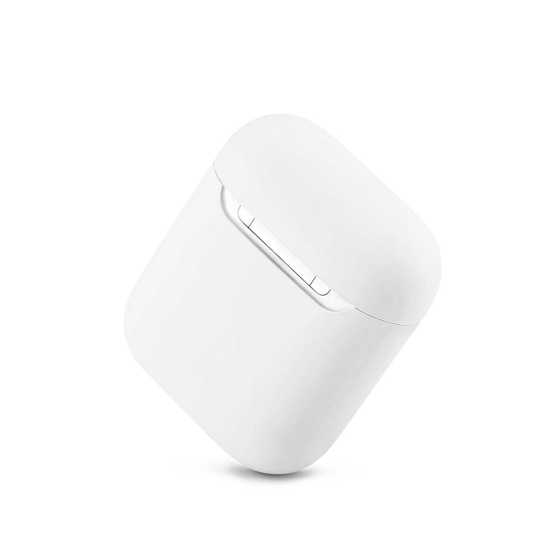 재고 있음 Airpods1 용 새로운 실리콘 케이스 Apple airpod 케이스 1 및 2 내충격 슬리브 용 2nd Luxury Protective 이어폰 커버 케이스