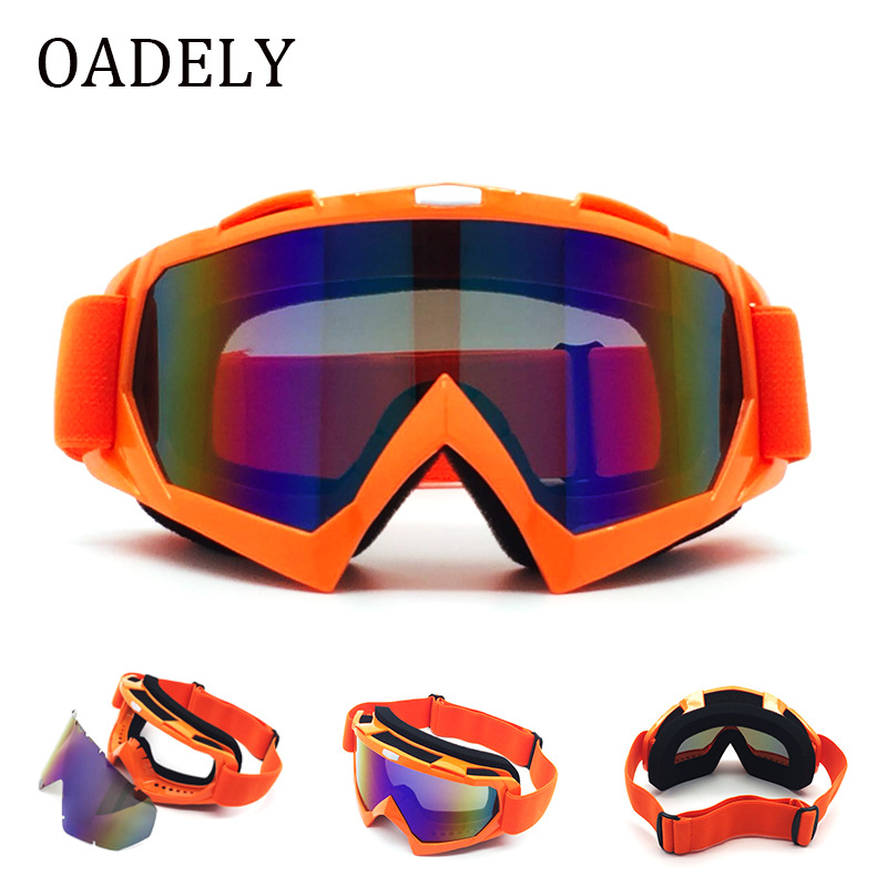 Off-Road Motorcycle Race Car Goggles Outdoor Riding Eye Protection Wind-Resistant Glasses Ski Eye-protection Goggles Men's And W