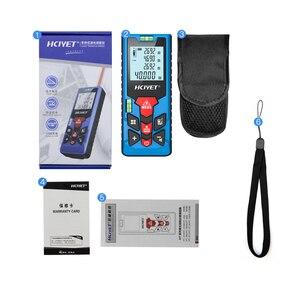 Image 4 - Mileseey Mini medidor de distancia láser Digital, trena, cinta métrica láser, diastímetro, herramienta de medición, telémetro láser 100M 80M  60M 40M