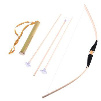 Bezpieczne bambus łuk i strzały zestaw zabawek Green Arrow Hero Cosplay sportowe na świeżym powietrzu dla dzieci zabawki dla dzieci prezent chłopiec sprzyja Craft tanie i dobre opinie OOTDTY CN (pochodzenie) 6 lat BOYS