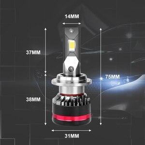 Image 5 - Carliteck d2s d4s led farol lâmpadas de alta potência h8 h9 h11 h7 lâmpadas no carro para auto hb4 9006 hb3 9005 iluminações 12v diodos