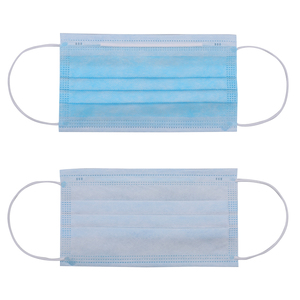 Image 5 - 50Pcs Face Mouth Masks Anti Dust Face Mask Disposable Mask Filter 3 layers Anti Dust Masks Earloops Protective Mask