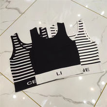 Womnen Tank Tops Female Summer Vest 2021 New Fashion Casual Letter Pattern Tees Ladies High Quality Luxury Brand Embroidery Tops