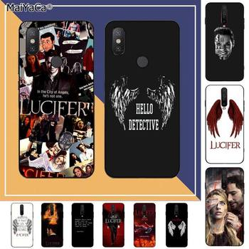 MaiYaCa American TV Degenerate angel Lucifer Soft Rubber Phone Cover for RedMi note 9 4 5 6 7 5a 8 9 pro max 4X 5A 8T 7 5 cm single joint slide fader potentiometer a10k handle with rubber dust 8t