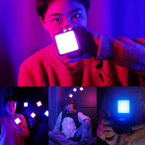 Image 5 - Orsda Ulanzi VL49 מיני וידאו אור תאורת עבור צילום 2000mAh 2500K 9000K RGB LED וידאו מצלמה אור Vlog למלא אורות לחיות
