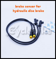 brake sensor for hydraulic disc brake