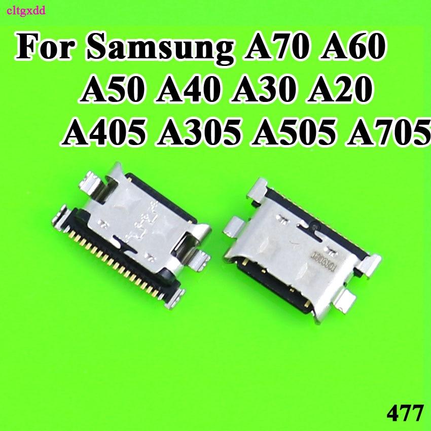 10pcs/lot Charger Micro USB Charging Port Dock Connector Socket For Samsung Galaxy A70 A60 A50 A40 A30 A20 A405 A305 A505 A705