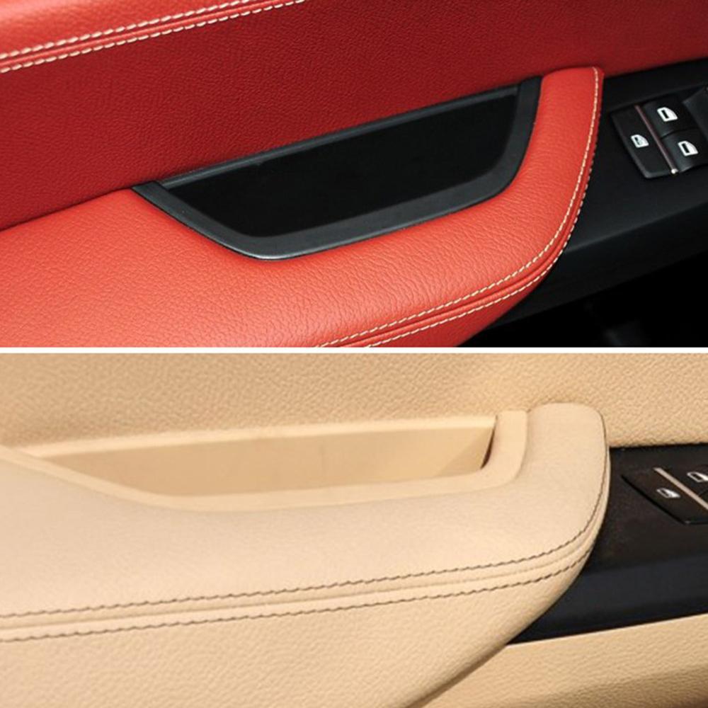 Car Front Left Door Interior Inner Handle Pull Trim for BMW X3 F25 X4 F26 Beige