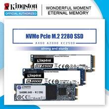 Kingston ssd nvme pcie m.2 2280 250g 500g 1tb unidade de estado sólido interno 120g 240g 480g disco rígido para computador portátil área de trabalho m2