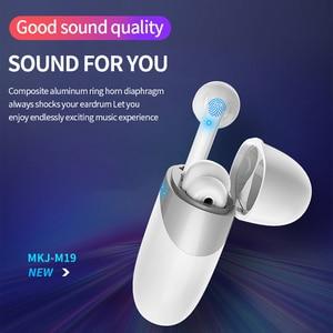 Image 3 - מרוצף עיצוב Bluetooth 5.0 אוזניות סטריאו אלחוטי מגע בקרת אוזניות אוזניות עבור Huawei Iphone Xiaomi נייד