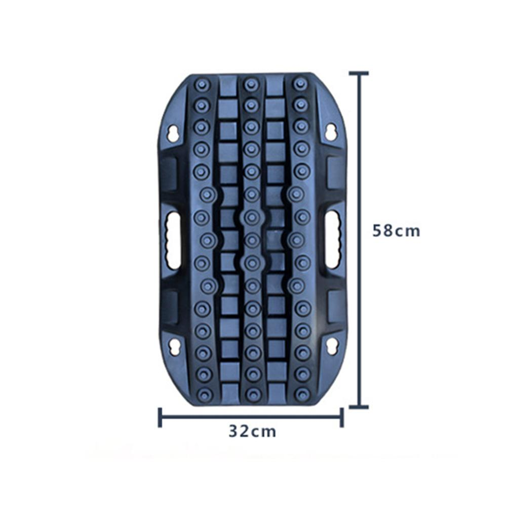 Universal Car Grip Tracks Traction Mat Recovery Tracks Traction Mat Anti-slip Track Tire Ladder For Sand Mud Snow