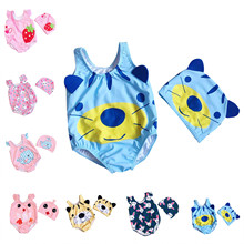 Swimsuit Romper Girl Bebe-Fille Baby Toddler Beach Boy Cute Cartoon 0-3years 1-An Animal-Set