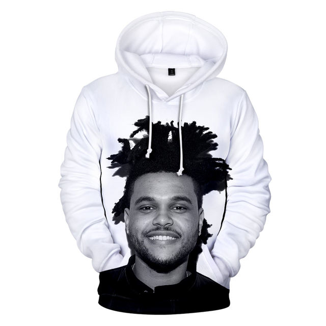 3D PAINT FACE THE WEEKND HOODIE