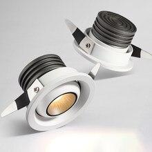 2021 nowy projekt CRI90 ściemniania oświetlenie Led typu Downlight 3W okrągły wbudowana lampa sufitowa AC 110V 220V Home Decor kryty oświetlenie punktowe